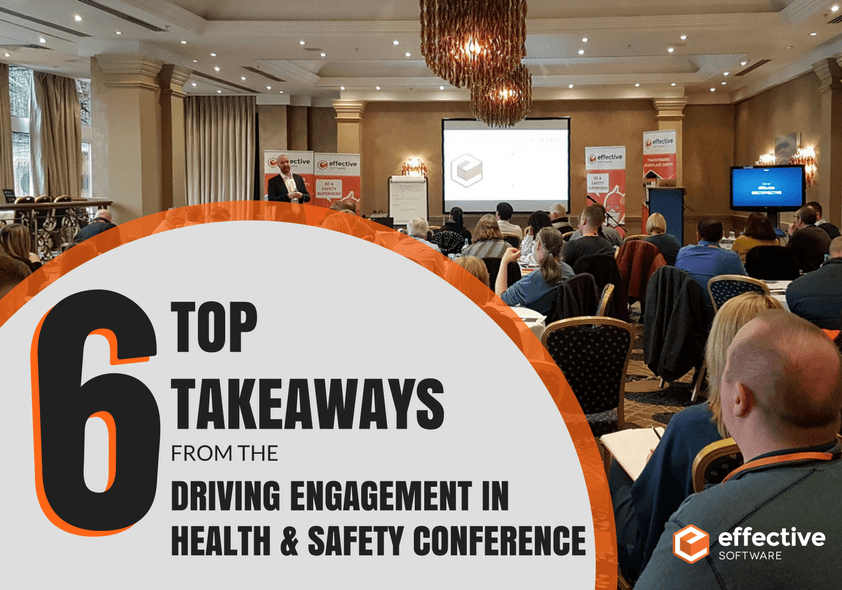 Top 6 Conference Takeaways - Driving Engagement in Health & Safety