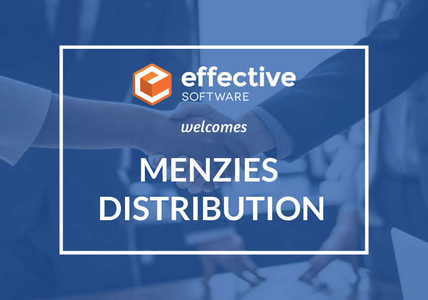 Effective Software now working with Menzies Distribution