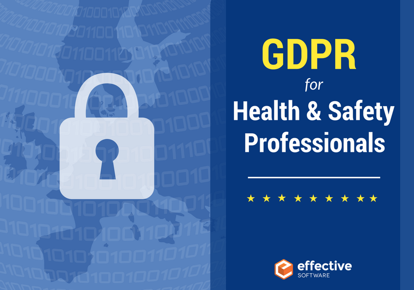 GDPR for Health and Safety professionals